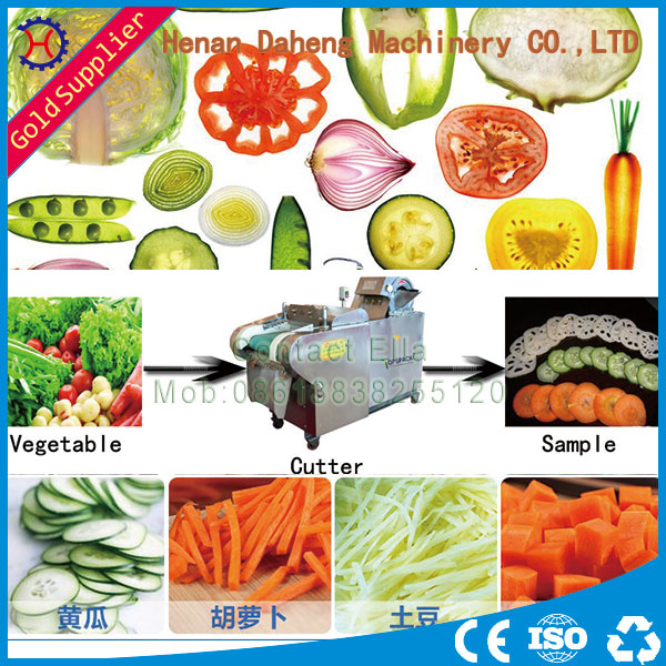 Machine Manufacturer Fruit And Vegetable Cutting Machine