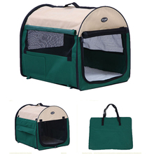 Eco-friendly indoor Airline Approved fabic travel crate dog