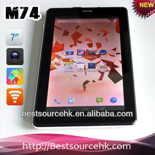 7inch 3G support Tablet pc quad core 1G+8G with GPS&WIFI&Bluetooth