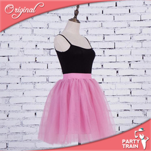 High quality supply women fashion hot sell tulle skirt 5 layer 55cm girl party dress