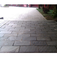 Outdoor paving, rectangle flagstone, slate paving stone