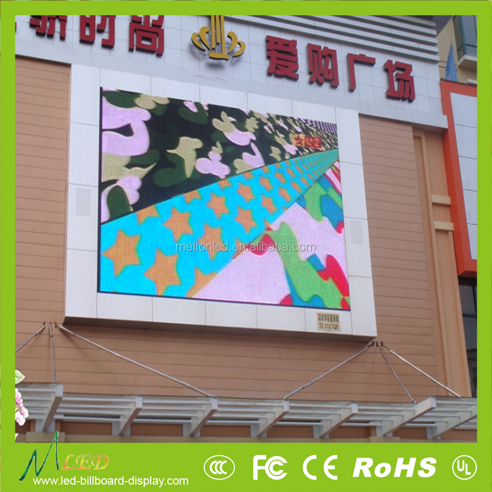 P10 Dip Energy Saving Full Color Outdoor P10 Led Display With High Quality