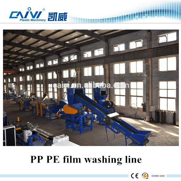 Hot Sale PP PE Film Crushing,Recycling & Washing Line/Waste Plastic Film Recycle Unit