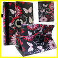 Butterfly Flower Custom DIY Sublimation for ipad Case Printer Customize Printing image Case for ipad air Case Rotate 360 Degree