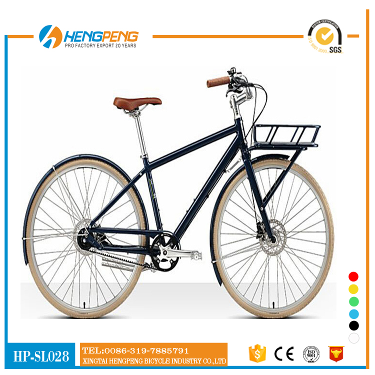 popular lady vintage bike 6 speed bike city bike female bicycle with front carrier