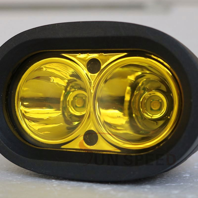 Factory directly sale amber / white led work light ,20w car tail lamp 4x4 led fog lamp