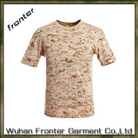 Army Military Camouflage T Shirt for Men