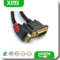 Guangdong Mini Cable VGA To HDMI FOR FLAT TV HDTV DVD