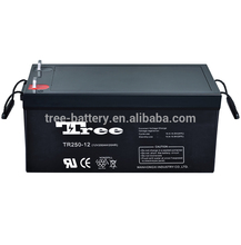 Manufacture 12V 250AH Good Quality 250ah Silicon Power Battery