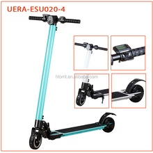 High-Quality Foldable aluminum alloy Power Scooter Fashionable Lightest 6.5 KG 2 wheel Electric Scooter