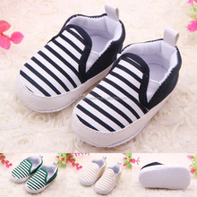 Baby shoes navy stripe fashion style Infant & Toddler shoes