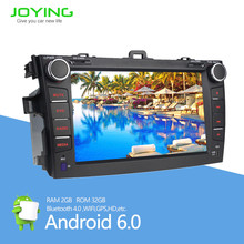 touch screen car tv dvd player for toyota corolla verso