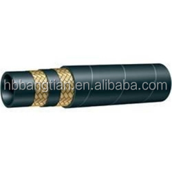 Industrial Wire Braided Flexible Rubber Hydraulic Hose