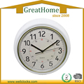 Hot sale 10-Inch European Style High Quality Plastic Wall Clock
