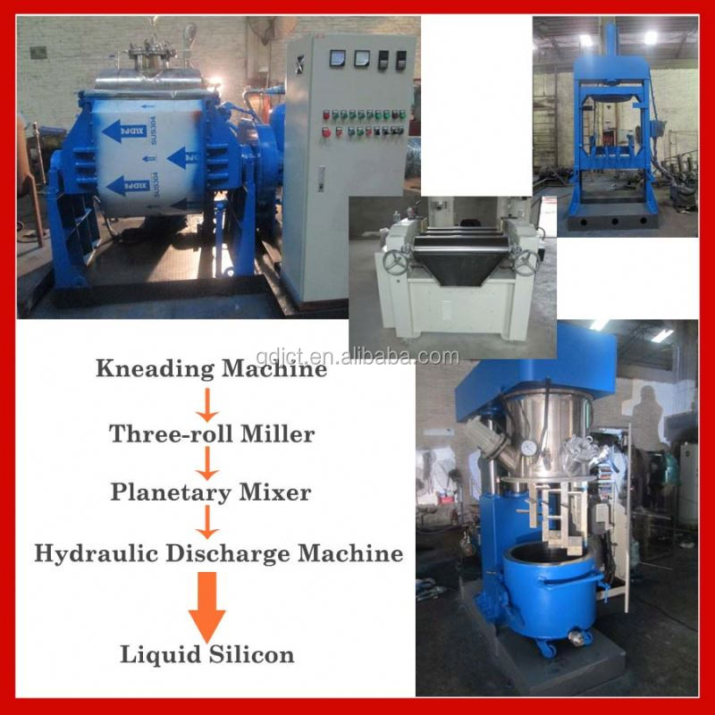 silicon pad making material making machines