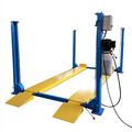 Workshop used four post 3700kgs car parking equipment