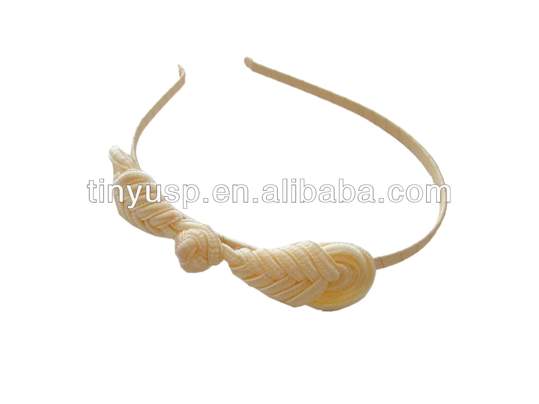 New design Chinese knot hairband /headband/hair accessories