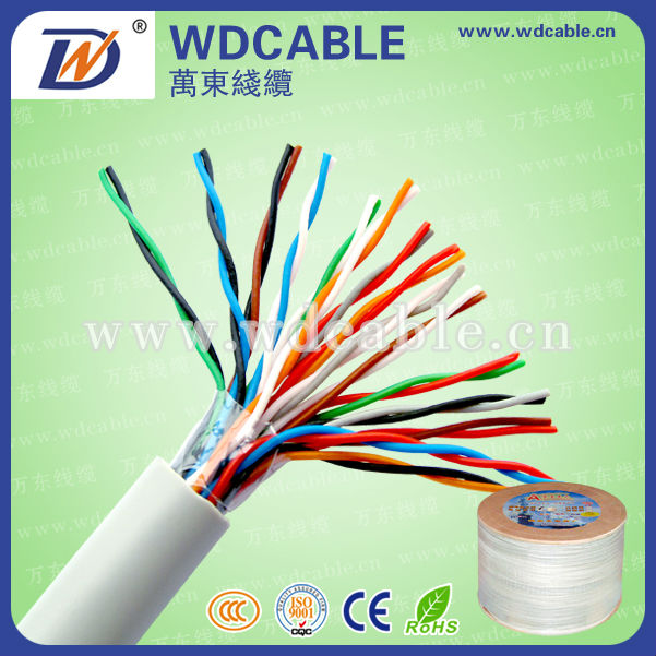 10 pairs telephone cable color code