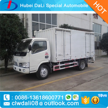 diesel small 3.5ton 3.5 tons cargo trucks for sale /dry cargo box truck van