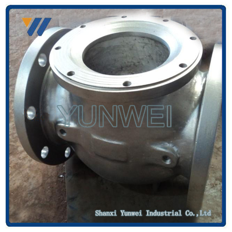 "Ductile Iron/Cast Iron 2"" Inch Flange Rotary Valve"