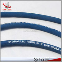 Steel Wire Braided as Bend Rubber Hose for Crane