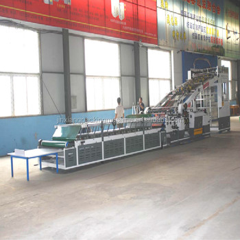 new size Fully Automatic high speed Flute Laminating Machine for corrugated cardboard