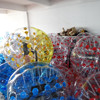 football sports entertainment bumper ball, football zorb ball bubble soccer with harness