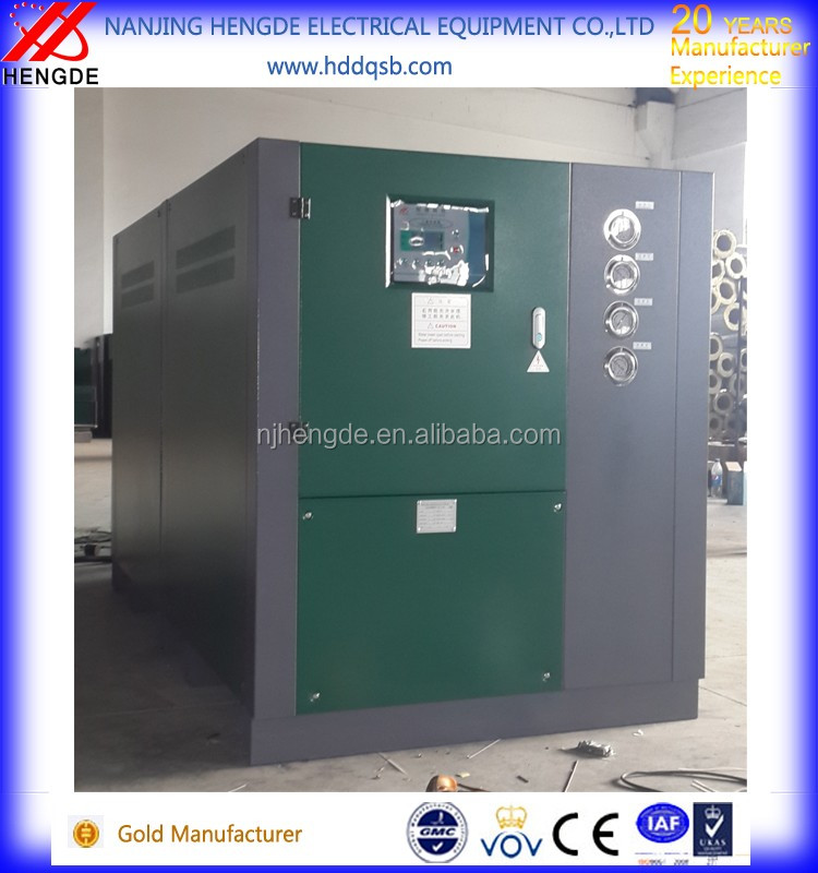 90kw water cooled chiller with water pump