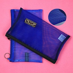 Ventilate mesh cosmetic bag
