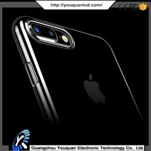 Sublimation transparent clear blank case for iphone 7 blank plastic / TPU phone case