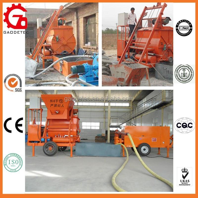 Cellular Lightweight Concrete Machines : Hot equipment cellular lightweight concrete hydraulic pump
