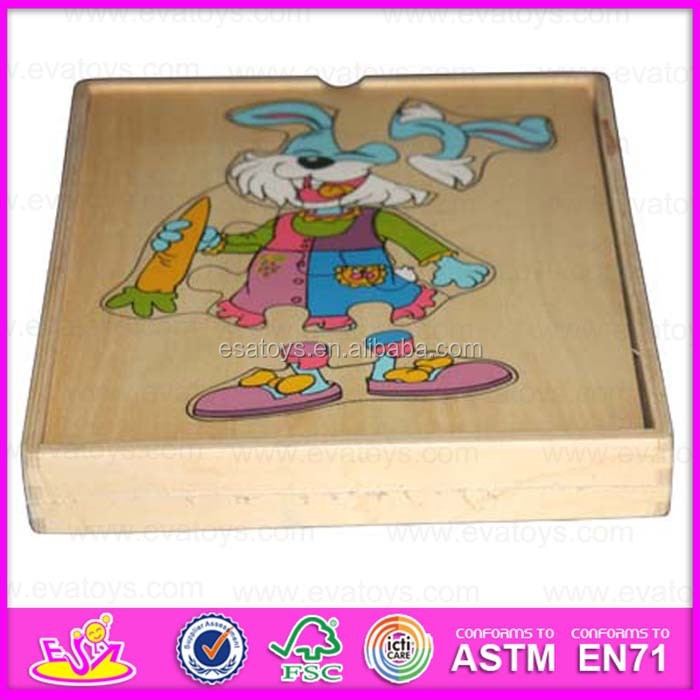 Educational wooden lovely puzzle children puzzle WJ278169