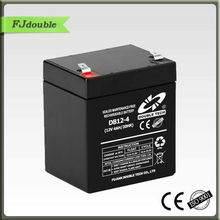 Hot sale VRLA LEAD ACID BATTERY SAFETY LIGHT BATTERY UPS BATTERY 12V 4AH