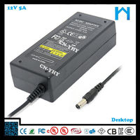 bridge type power supply constant voltage power supply universal laptop ac/dc adapter 12V 5A UL CE GS SAA 60W