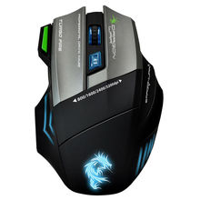 OEM 1.8m Wired 9keys programmable 4 speeds dpi adjustable Gaming Mouse with gaming mouse pad