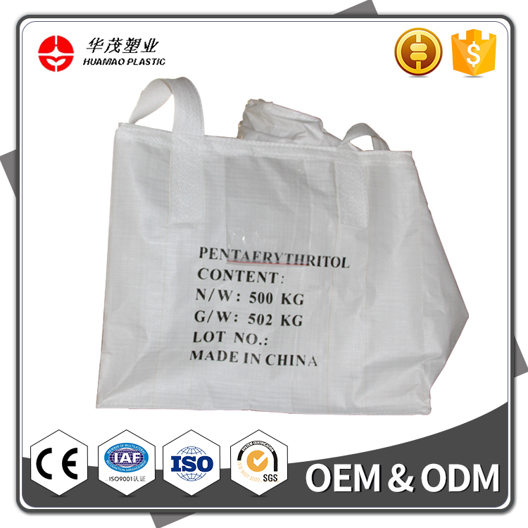 China Supplier 1 Ton Supper Plastic Woven Sacks Jumbo Big Bag For Cement With High Quality Reasonable Price