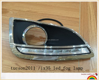 auto parts for tucson ix35 tucson 2011led fog lamp led daytime running light cover led fog light
