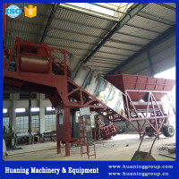 Pofessional Design Elba Mobile Concrete Batching Plant 35m3/h