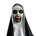 2018 Nun Terror Cosplay Mask Latex Horror Mask Halloween Party Nuns Mask