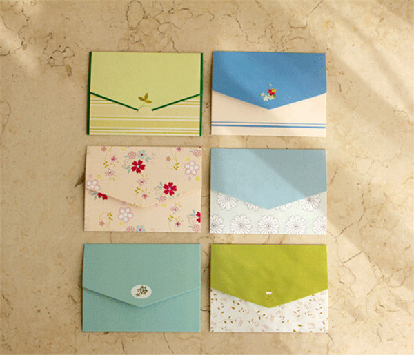 floral folding greeting <strong>card</strong> thank you <strong>card</strong> birthday christmas <strong>card</strong> envelope writing paper stationery