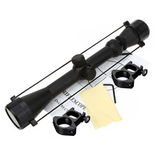 Adjustable hunting riflescope 3-9x40 Rifle Scope Outdoor Reticle Sight Optics Optical Sight Scope for Rifle Hunting+Rail MOUNTS