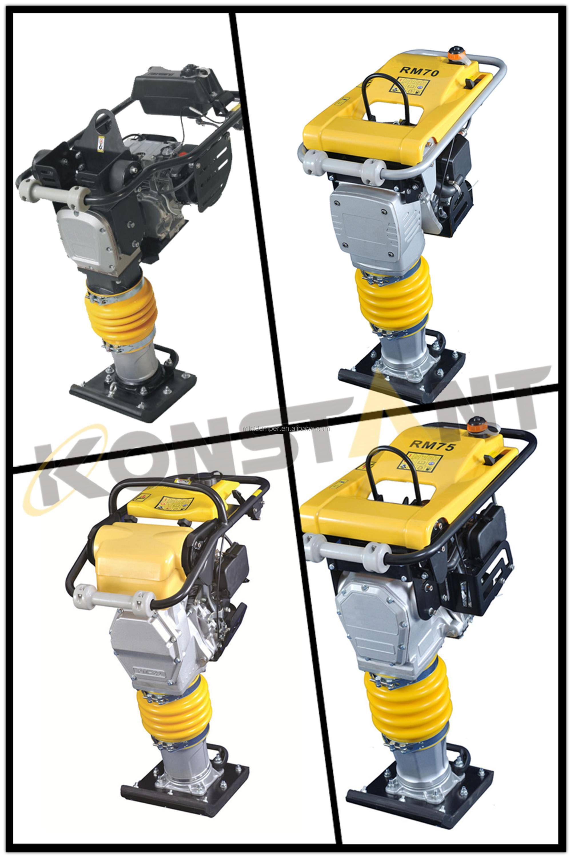 Good Quality Gasoline Powered Tamping Rammer