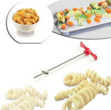 ABS Stainless Steel Vegetables Potato Kitchen spiral Slicer