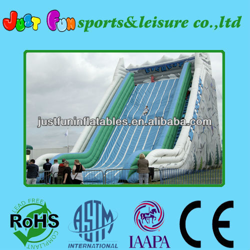 2014 Attractive commercial huge everest inflatable slide/giant slide inflatables