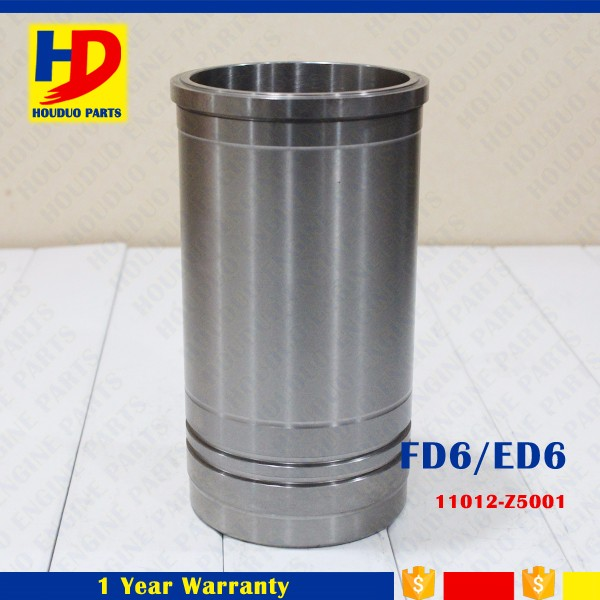 Diesel Engine FD6 Cylinder Liner For Nissan Engine Parts 11012-Z5001
