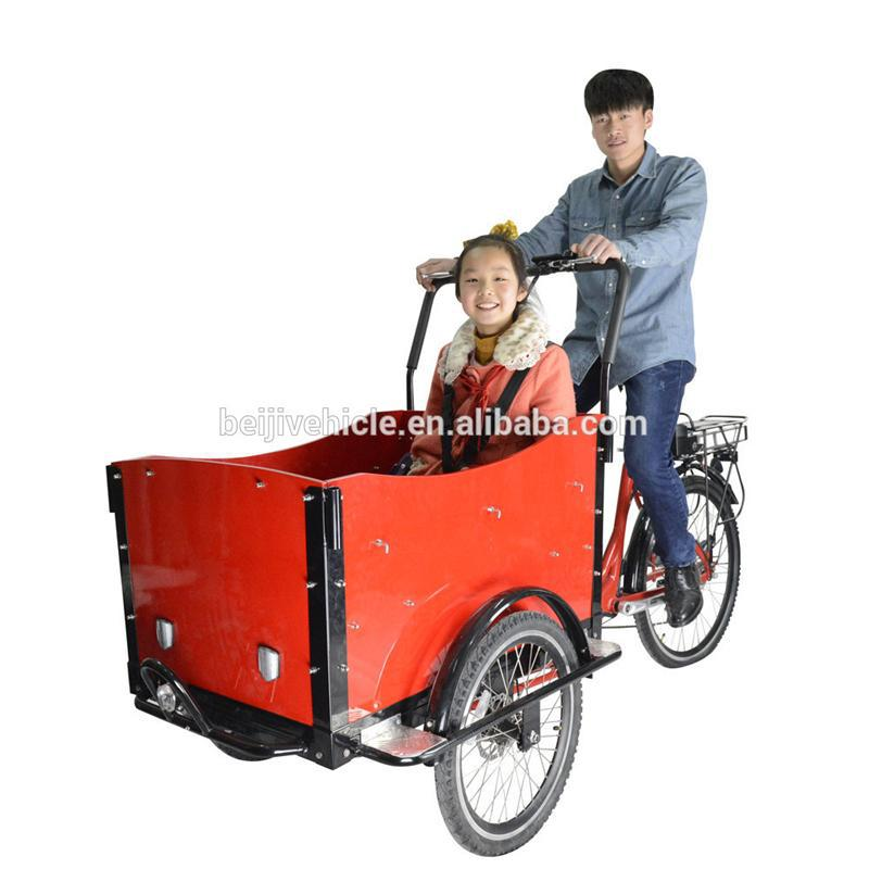 Professional electric cargo bike with CE certificate