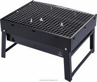 Foldable mini bbq grills with small packing charcoal Barbecue grill outdoor use suitable for promotion gifts