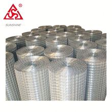 Factory sell 1 inch gi 4x4 welded wire mesh aviary mesh
