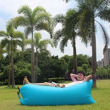Outdoor Quick Inflatable Lounger Hangout Bean Bag Lazy Sofa