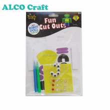 Creative hands Robot doll foam activity craft kit